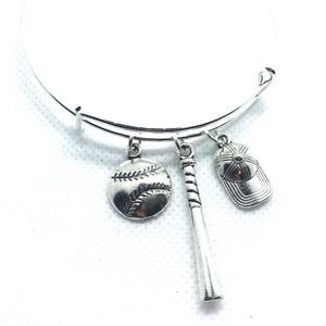 Jewelry - Baseball bracelet silver fashion jewelry sports